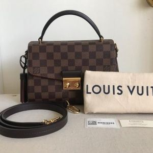 Louis Vuitton Croisette Damier Ebene Cross…